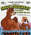 Walt Disney's Davy Crockett And Songs Of Other Heroes