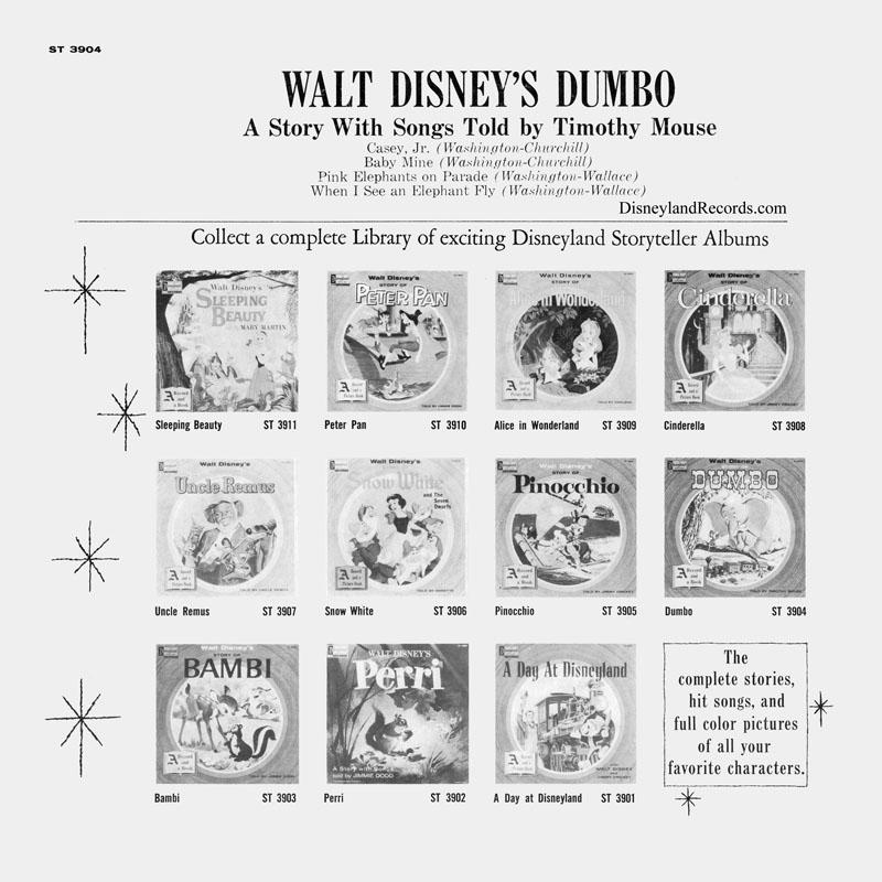 21,5 x 22,3 x 5,2 cm Erik Disney Dumbo Photo Album