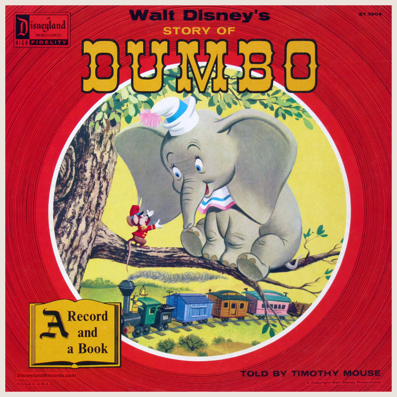 DisneylandRecords.com - ST-3904 Walt Disney's Dumbo
