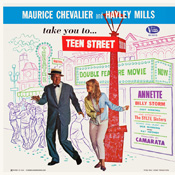 BV-3313 Maurice Chevalier And Hayley Mills Take You To Teen Street