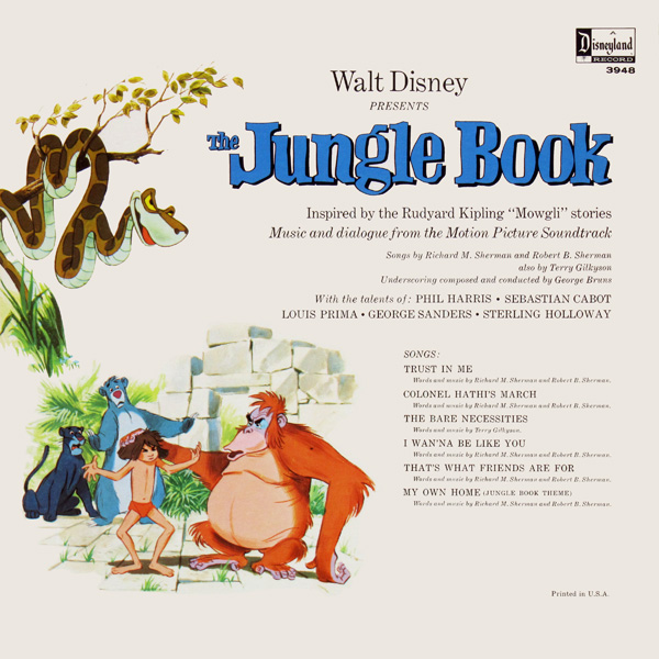 Disneylandrecords Com 3948 The Jungle Book