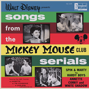 DQ-1229 Walt Disney Presents Songs From The Mickey Mouse Club Serials