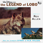 DQ-1258 The Legend Of Lobo / Walt Disney's Old Yeller